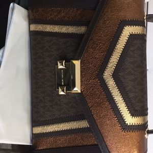 Michael Kors handbags brown